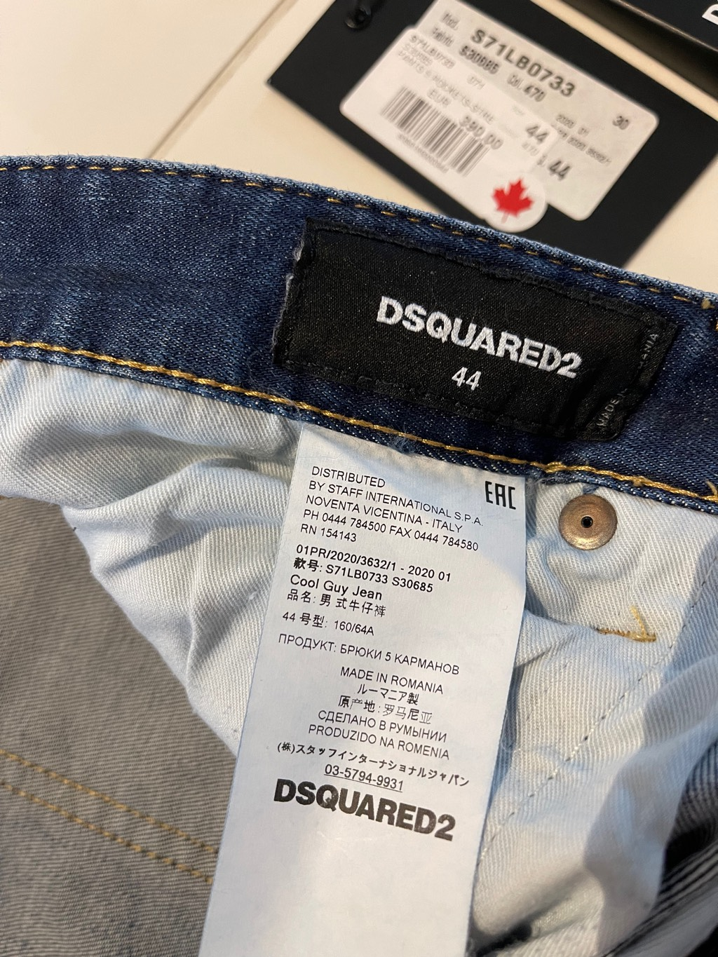 DSQUARED2 Cool Guy jeans, sz.44Dsquared22