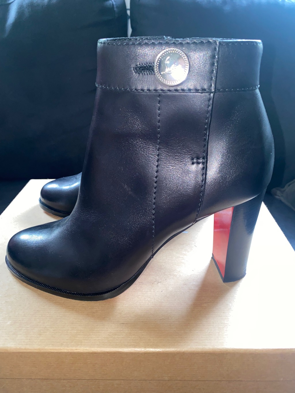 Christian Louboutin Jenis Boots 85 calf WORN ONLY ONCE FEW HOURS Christian Louboutin2