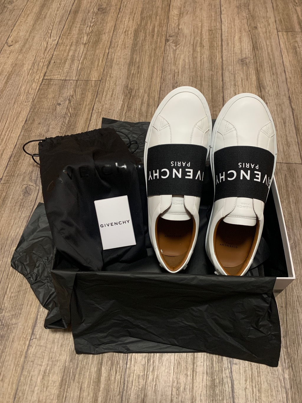 Givenchy sneakers in leather with webbingGivenchy5