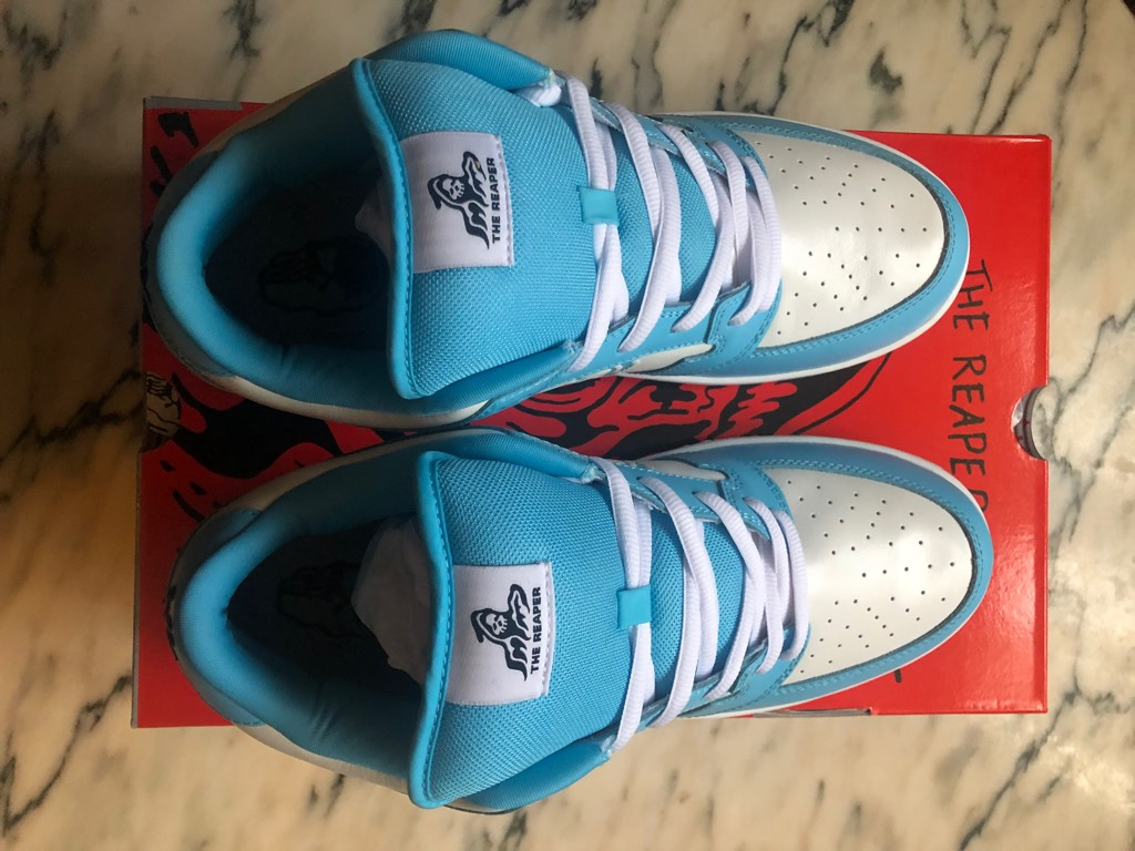 Warren Louts Reaper Electric Blue UK10.5 US11.5 DSOther1