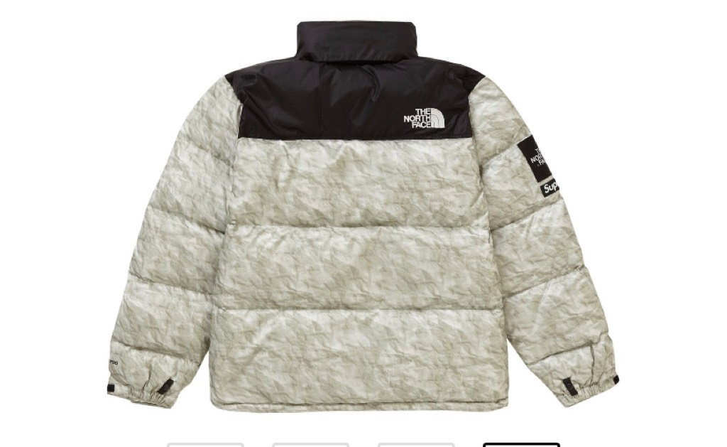 Supreme The North Face jacket with receiptSupreme1