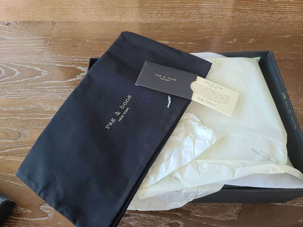 Rag & Bone size 38.5 fits like a size 9, brand new with complete package Other0
