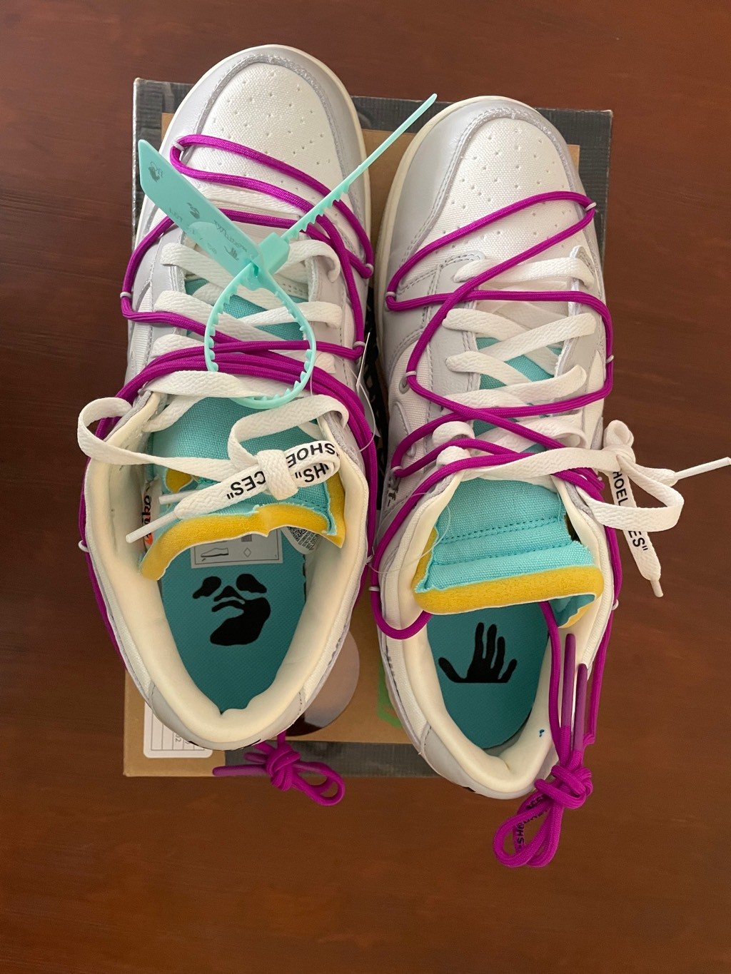 Dunk off white Lote 21 Off-White x Nike2