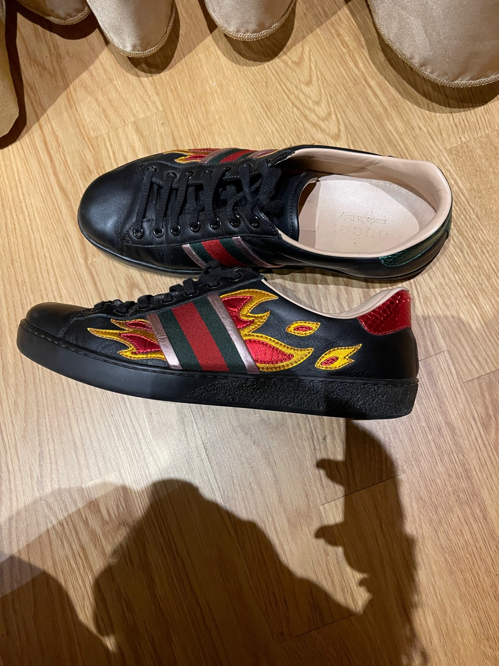 Gucci flame ace sneakers Gucci1