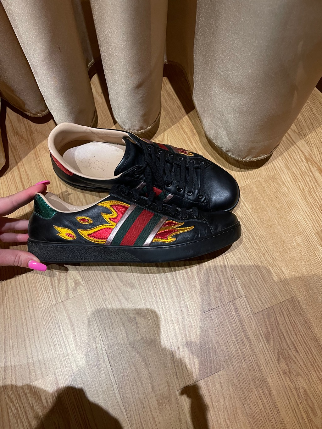 Gucci flame ace sneakers Gucci3