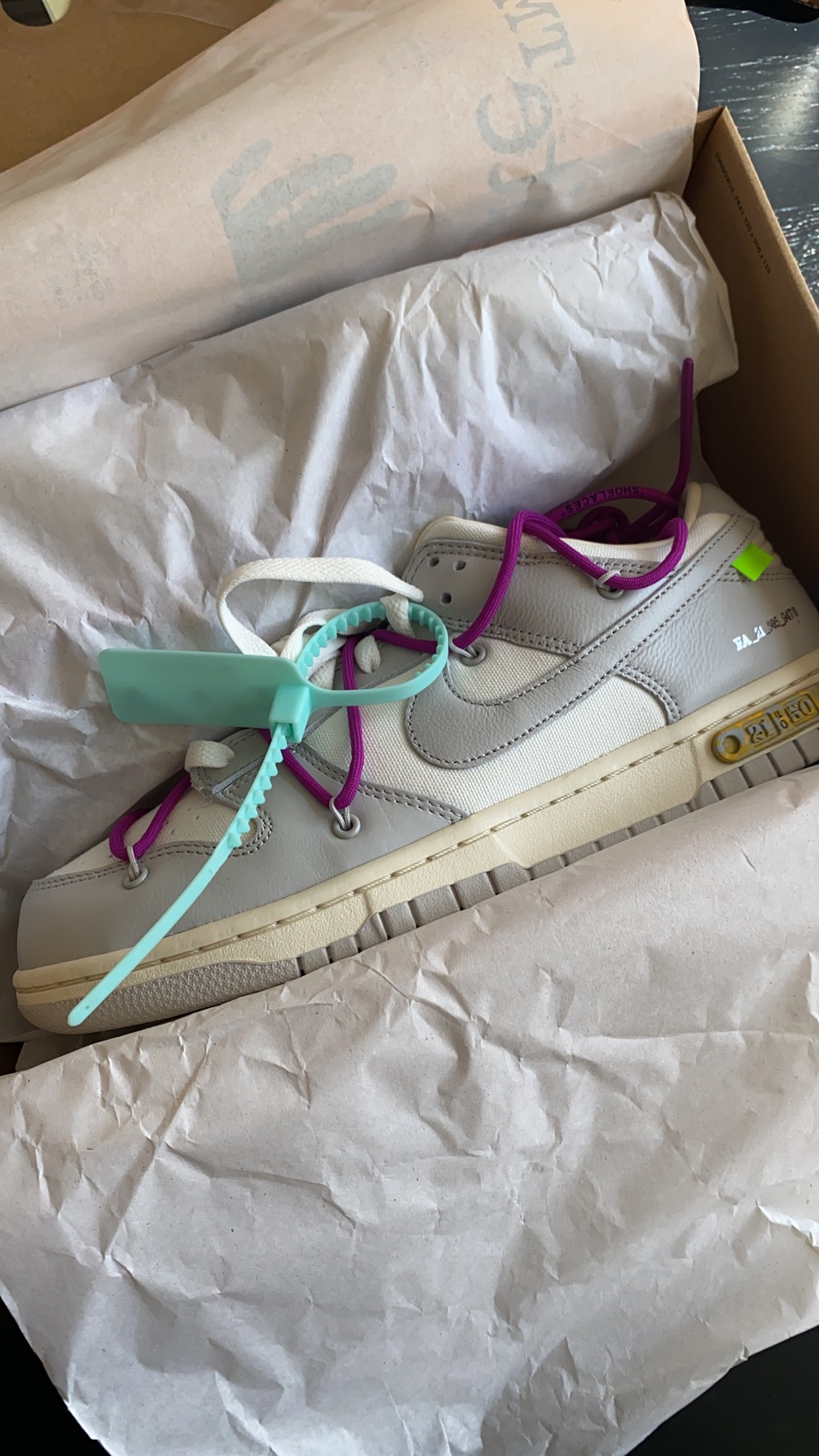 Nike Dunk Low Off-White Lot 21Off-White x Nike2