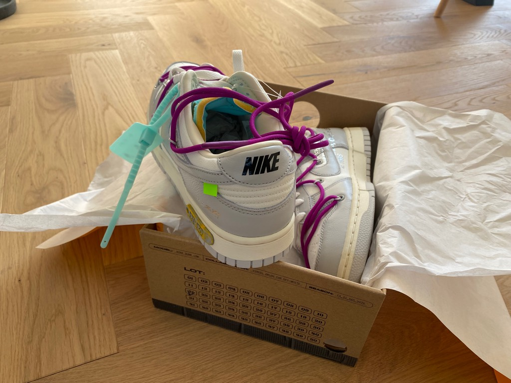 Nike Dunk Low Off-White Lot 21Off-White x Nike1